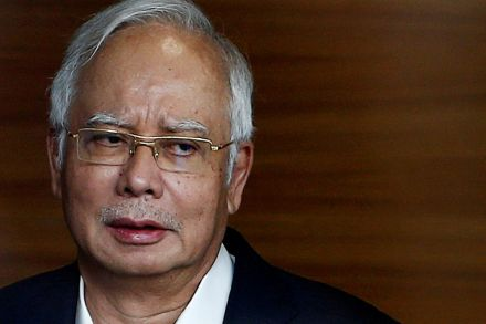 Malaysia's former PM Najib charged with three counts of money laundering