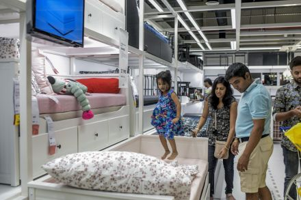 Six million shoppers a year expected to throng India's first Ikea store, Consumer - THE BUSINESS TIMES