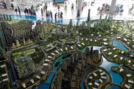 Mahathir bans foreigners from buying Forest City project