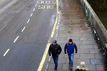 British prosecutors to charge two Russians in U.K. nerve agent attack