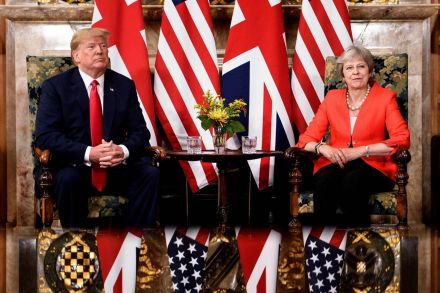 May to meet Trump in New York to discuss Brexit and trade