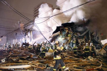 Scores injured in Japan restaurant explosion