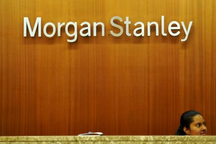 Morgan Stanley 4Q profit, revenue hit by volatile markets