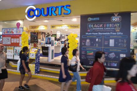 Japan retailer Nojima makes offer for Courts Asia at S$0 205