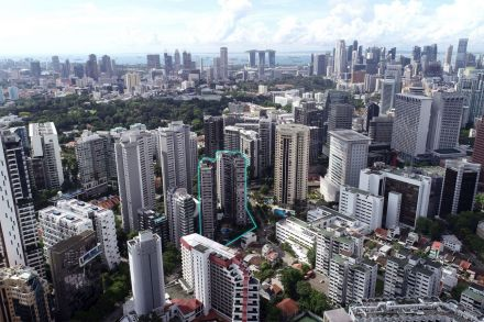 Elizabeth Towers off Orchard Road up for sale by tender with S 610m reserve price