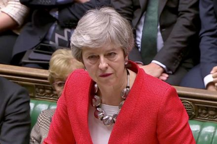 May Expected in Strasbourg in Late Bid for Brexit Breakthrough