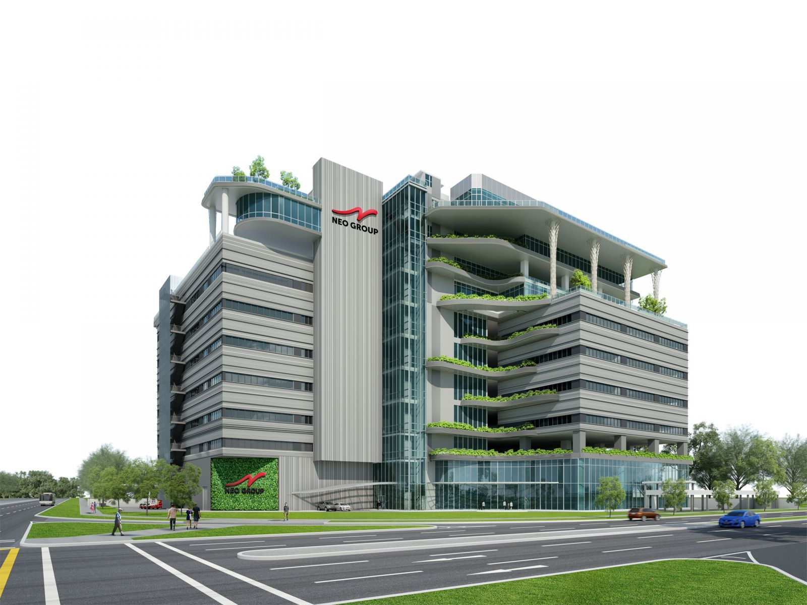 Neo Group's new high-tech headquarters and catering hub