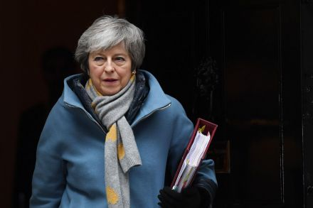 May counts on European Union  for Brexit delay, World News & Top Stories