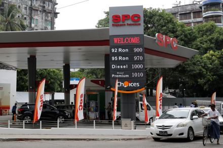 CNPC breaks into fuel retailing in Myanmar with Singapore