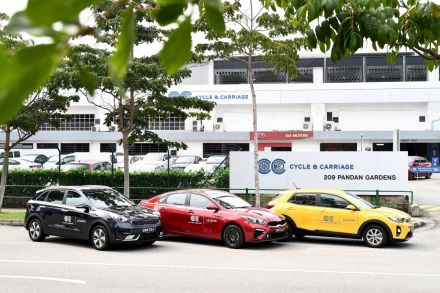 [Photo] Cycle & Carriage Singapore Launches Car Leasing Business - 1.JPG