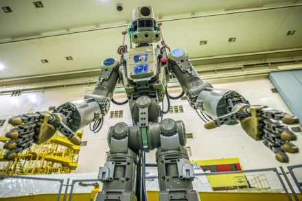 International Space Station: Russia sends first humanoid 'Fedor' robot into space