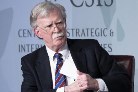 John Bolton critical of North Korea in first speech since ouster