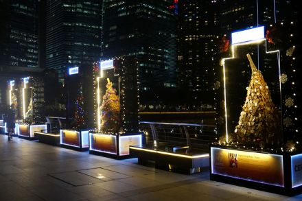 Marina Bay Christmas Tree Light Up To Expand To 4 New Sites