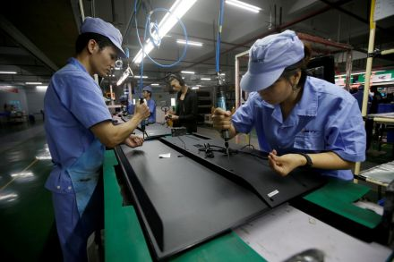 China's factory activity improves in November