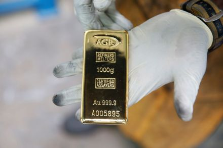 Gold price at seven-year high on coronavirus fears