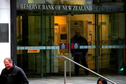 Reserve Bank boss Adrian Orr with Newstalk ZB's Mike Hosking