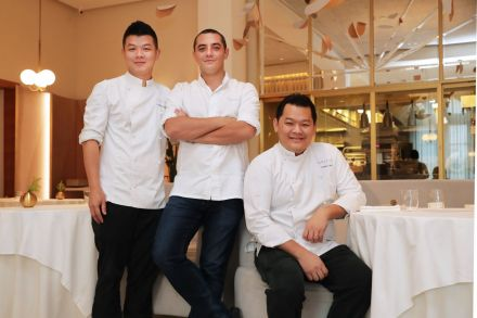 Julien Royer (middle) - chef-owner of Odette.jpg