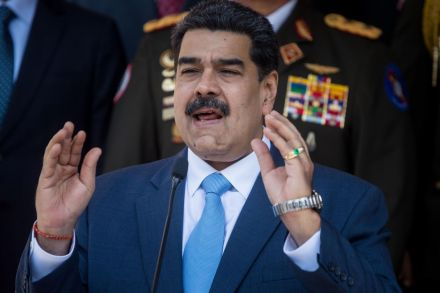 USA  charges Venezuelan president with drug crimes — Nicolas Maduro