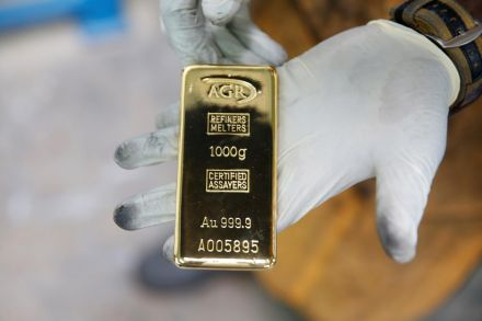 Gold prices shoot over seven-year peak
