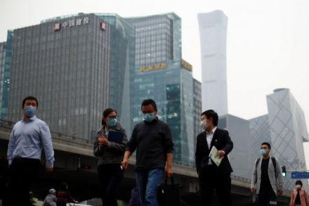 China's economy shrinks 6.8%