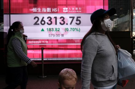 Coronavirus: European stocks rise despite US-China tensions