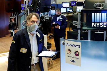 U.S. stocks open higher, bouncing back from rout; Dow up 3%