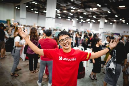 Marcus Tan, co-founder of Carousell at Carouselland 2019.jpg