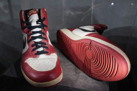 Michael Jordan's sneakers sell for US$615000, new record