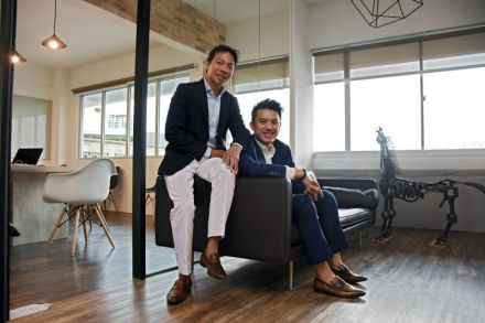 Terence Loh (left) and Nelson Loh of Bellagraph, Novena Global Lifecare - ST file.jpg