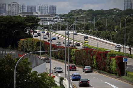 ERP charges to go up by S$1 at six CTE gantries from Oct ...