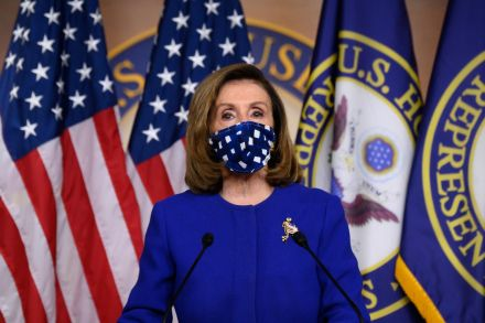 Pelosi says 'just about there' on United States stimulus; Senate hurdle awaits