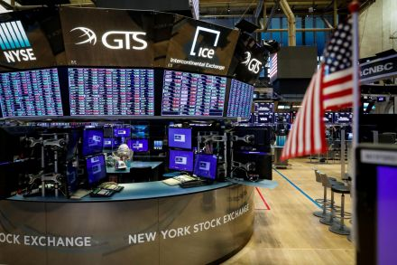 Dow, S&P gain in choppy trade, USA election in focus