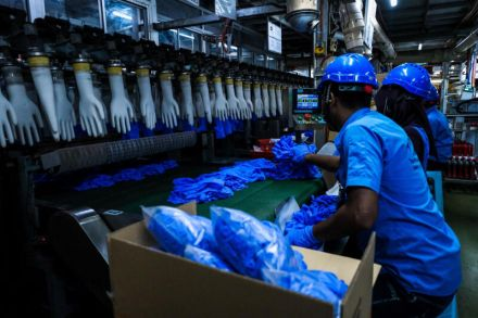 Coronavirus infects more than 1K workers at world's top surgical glove maker