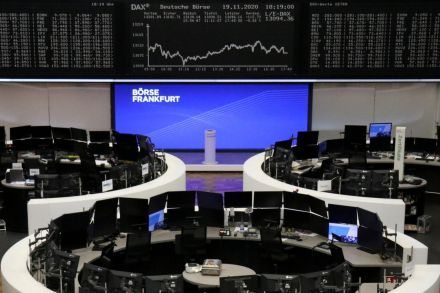 Energy stocks drive gains in European shares