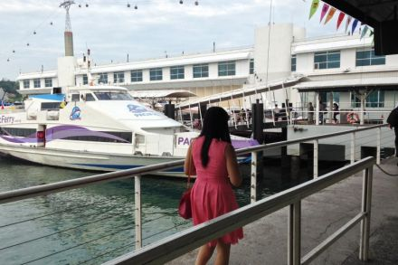 Ferry bound for Batam at the Singapore Cruise Centre at Harbourfront - ST file - 2014.jpg