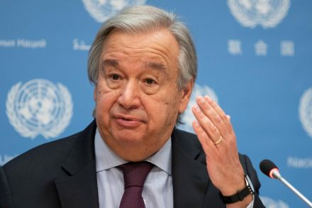 United Nations chief calls for worldwide 'state of climate emergency'
