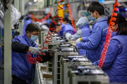 China industrial output steps up in November as recovery gathers pace