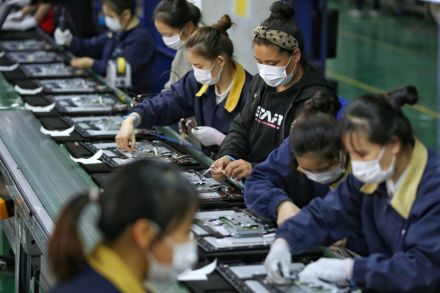 China's industrial profits grow at slower pace in November
