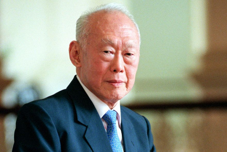 honouring lee kuan yew views from the top   the business