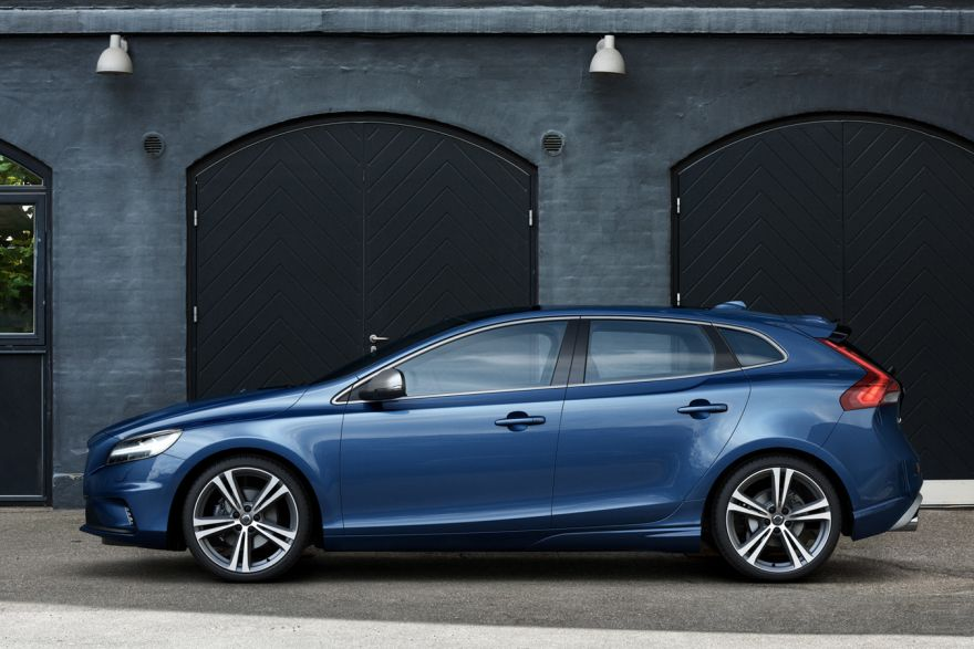 the volvo v40 t2 r design is the racier alternative cars the business times. Black Bedroom Furniture Sets. Home Design Ideas