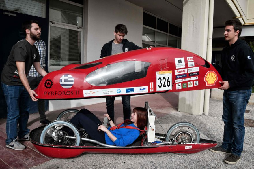 Greek students' electric car catches Tesla's attention ...