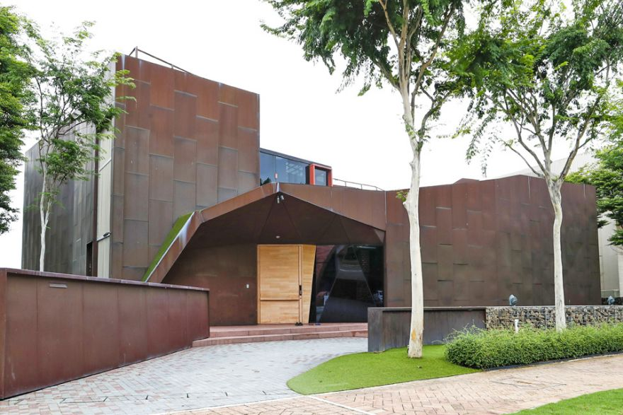 Copper-cladded Sentosa Cove bungalow sold for S$32 million