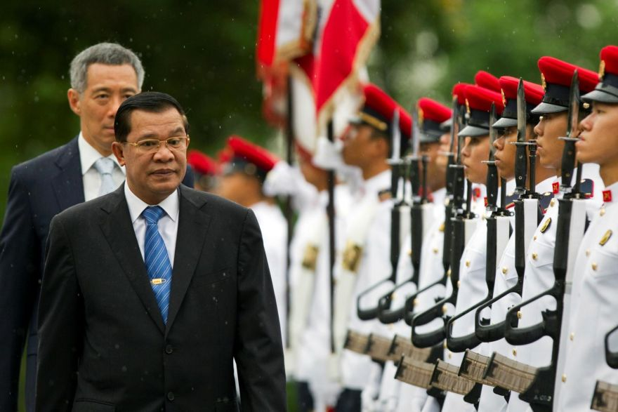 Cambodian PM says Singapore supported genocide, - THE BUSINESS TIMES