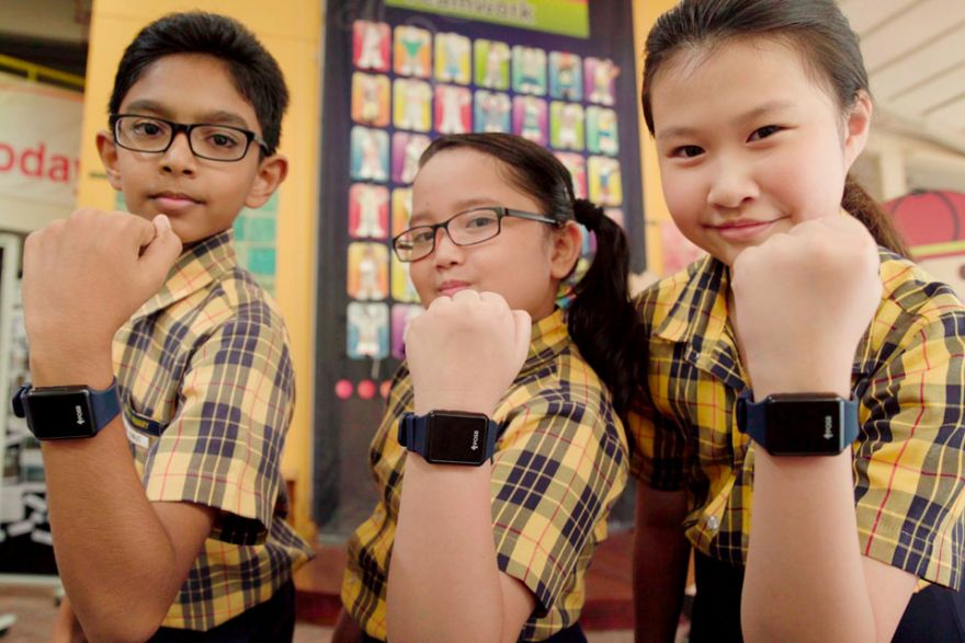 Special mention for POSB Smart Buddy watch