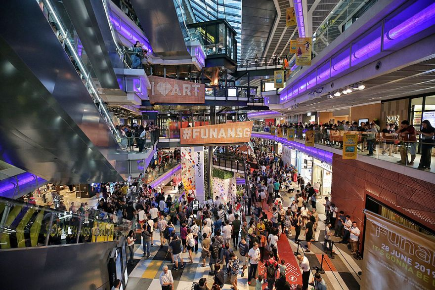 Funan mall reopens with swankier vibe after major S$560m, 3-year  renovation, Real Estate - THE BUSINESS TIMES