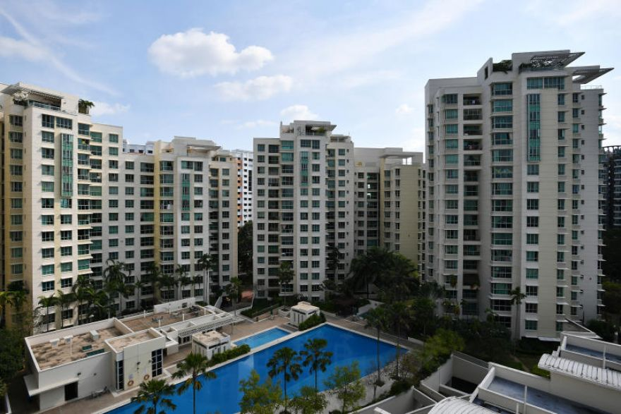 What are the types of condominiums in Singapore?