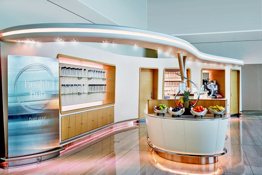 Airlines up the ante on the ground, in premium lounges, Top Stories -