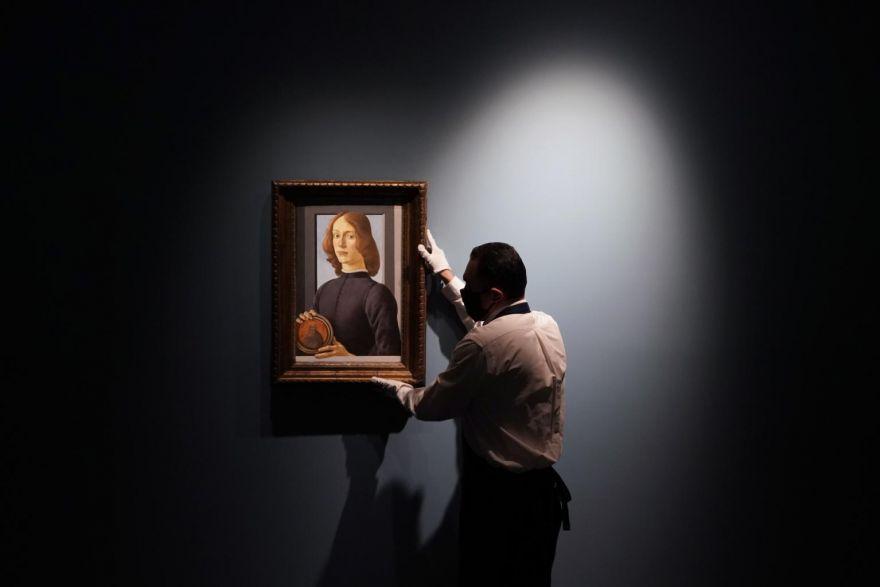 Rare Botticelli portrait could reach US$100m at auction, Life & Culture -  THE BUSINESS TIMES
