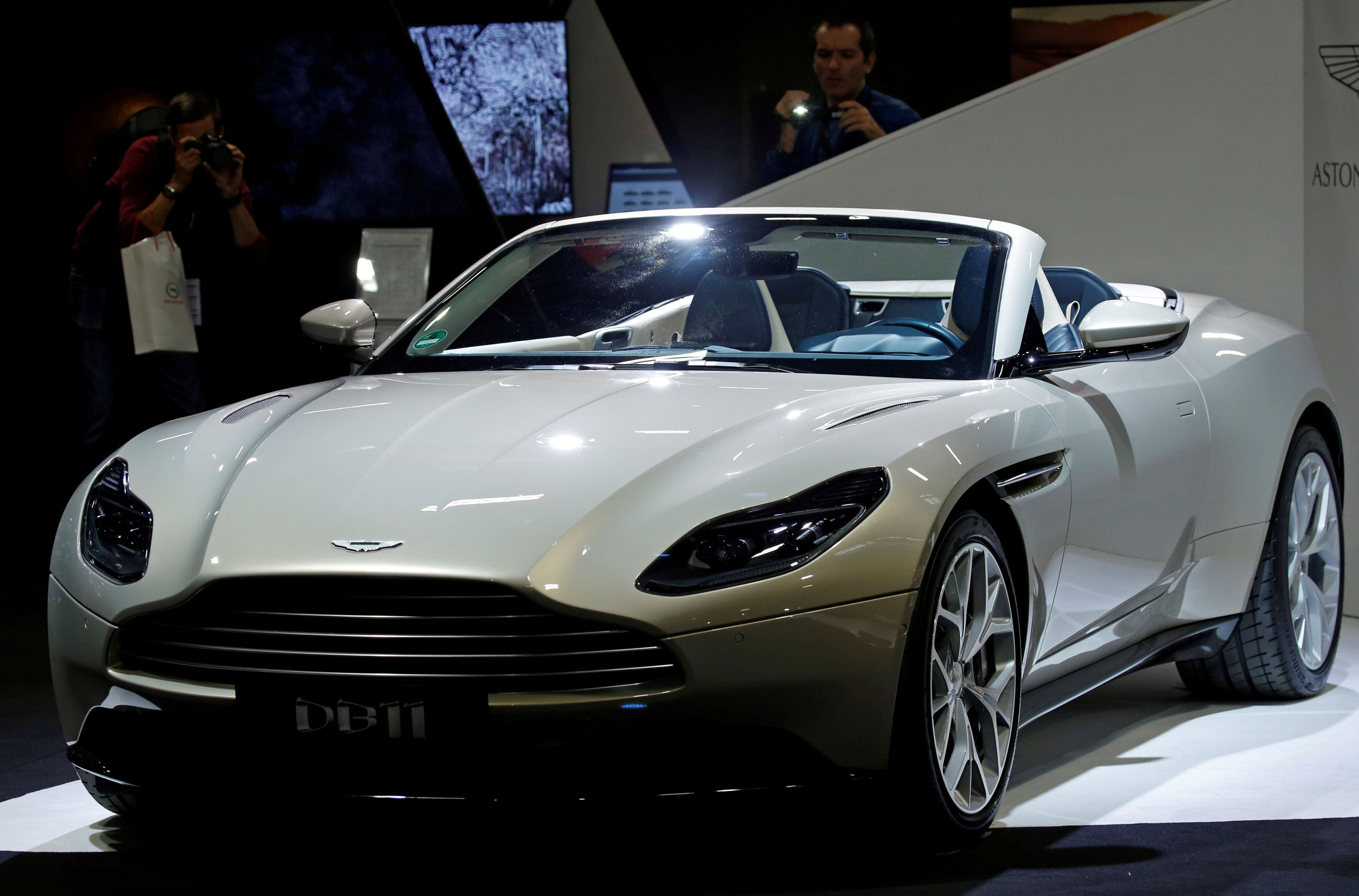 aston martin board approves air freight in brexit planning