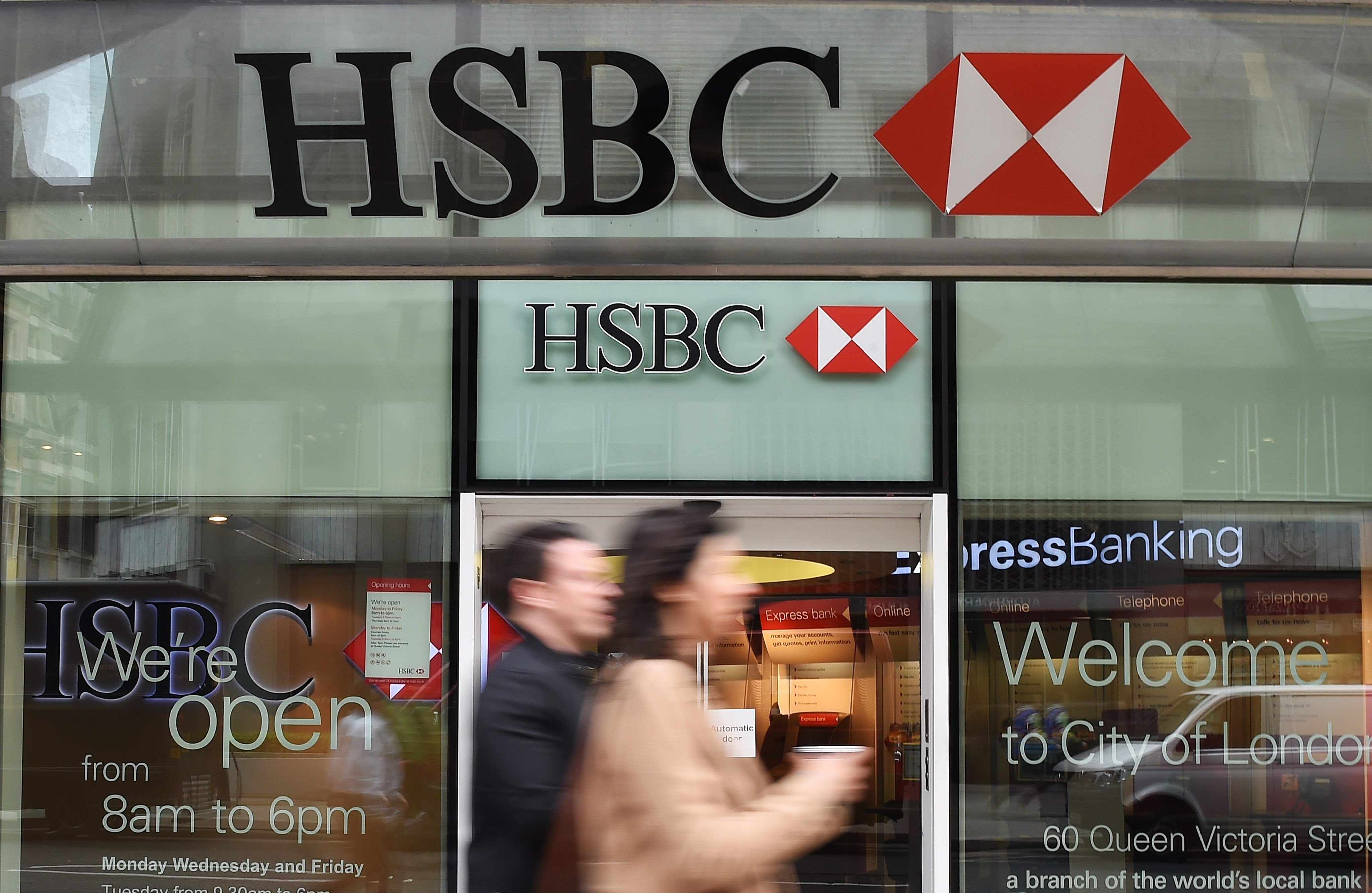 HSBC shares soar in London, HK on report it may spin off UK consumer
